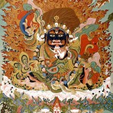 Black Coat Thangka