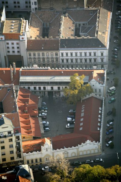 Arial view of the Budapest Diamond Way Buddhist Centre