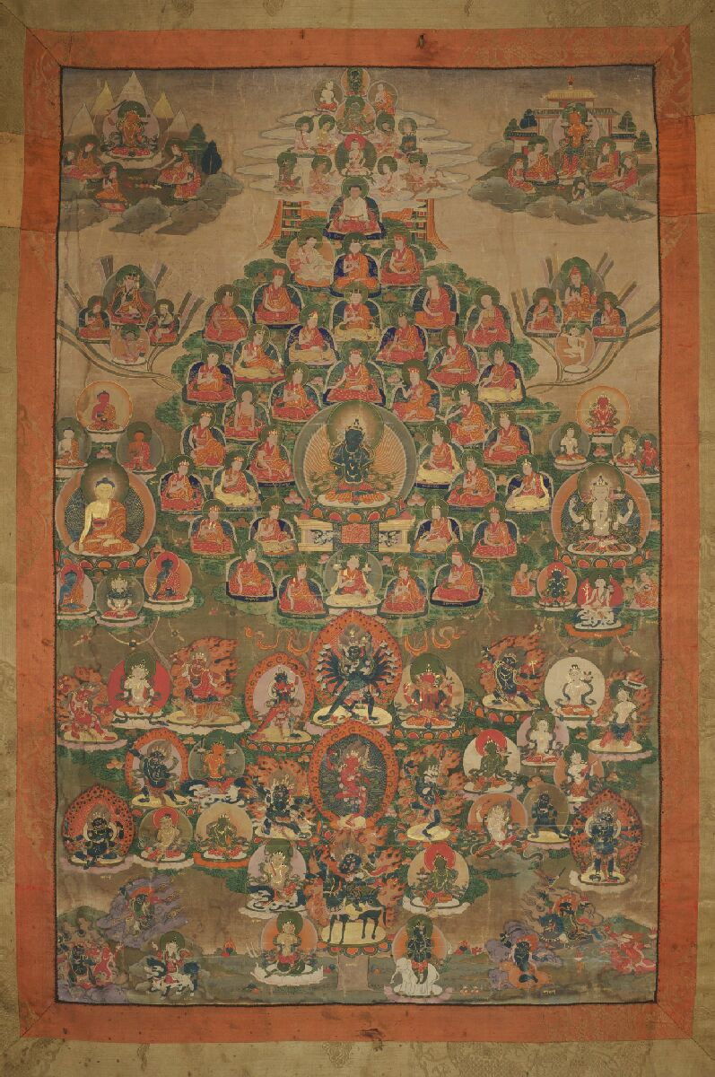 Early Karma Kagyu Refuge Tree