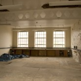 Inside the derelict Beaufoy Institute