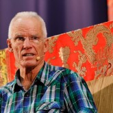 Lama Ole Nydahl teaching in Friends Meeting House, 14 July 2012