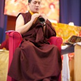 H.H. Karmapa concludes the initiation, 15 July 2012