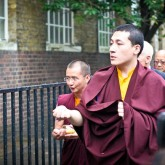H.H. Karmapa blesses the Beaufoy Insitute