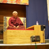 Jigme Rinpoche teaches in Friends Meeting House 16 June 2012