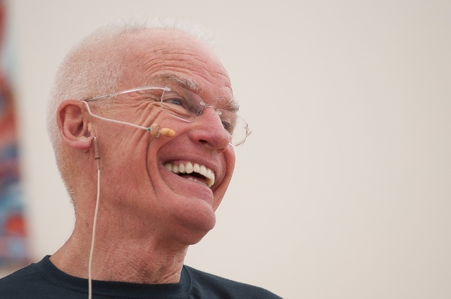 Lama Ole Nydahl at the Europe Center, August 2010