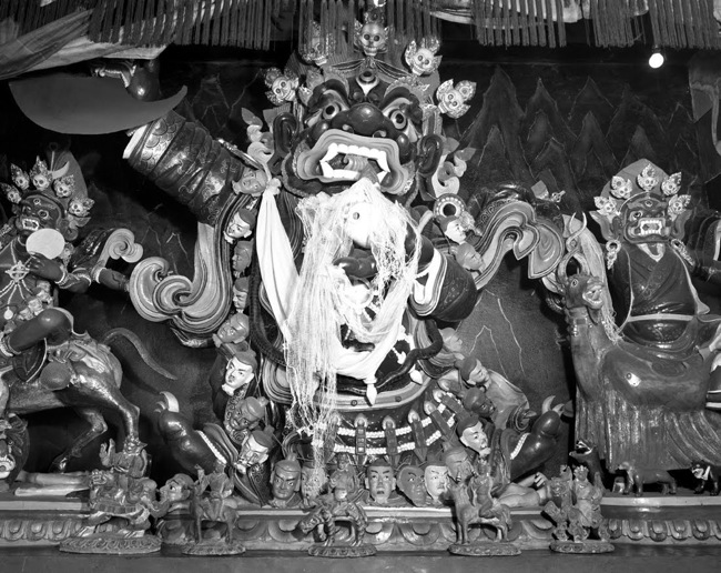 Mahakala statue in Rumtek Monastery (photo: Peter Mannox)