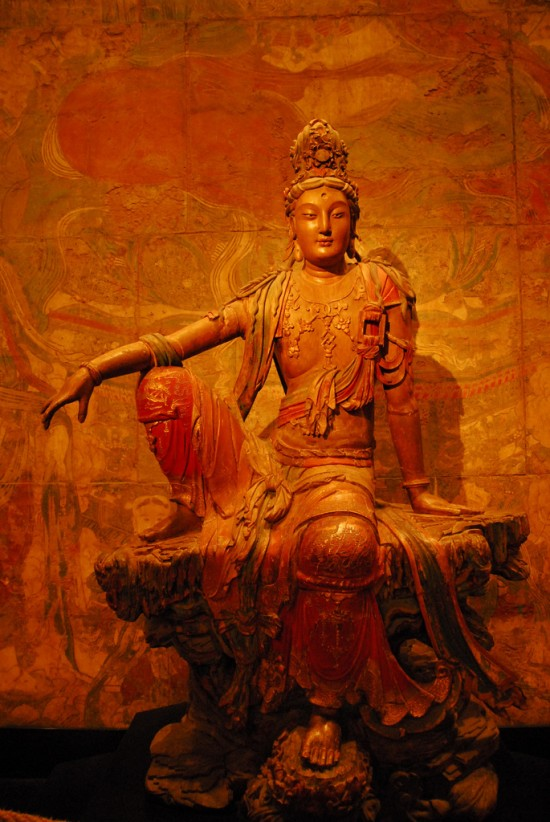 Seated Bodhisattva, Nelson-Atkins Museum, Kansas