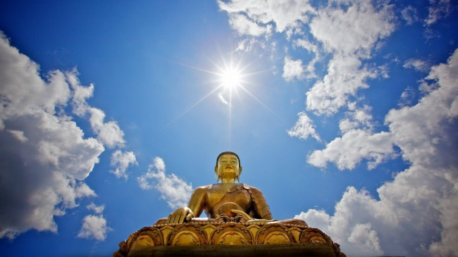 Buddha Dordenma in Thimphu, Bhutan (Photo: Michael Foley)